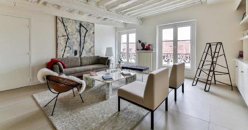 Ruang Tamu Bernuansa Skandinavian - Desain Ruang Tamu Minimalis yang Bikin Rumah Nampak Ciamik