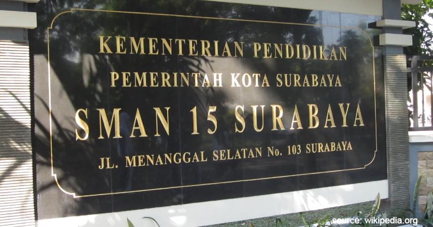 SMA Negeri 15 Surabaya - Daftar SMA Negeri Terbaik di Surabaya dengan Segudang Prestasinya