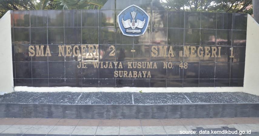 SMA Negeri 2 Surabaya - Daftar SMA Negeri Terbaik di Surabaya dengan Segudang Prestasinya