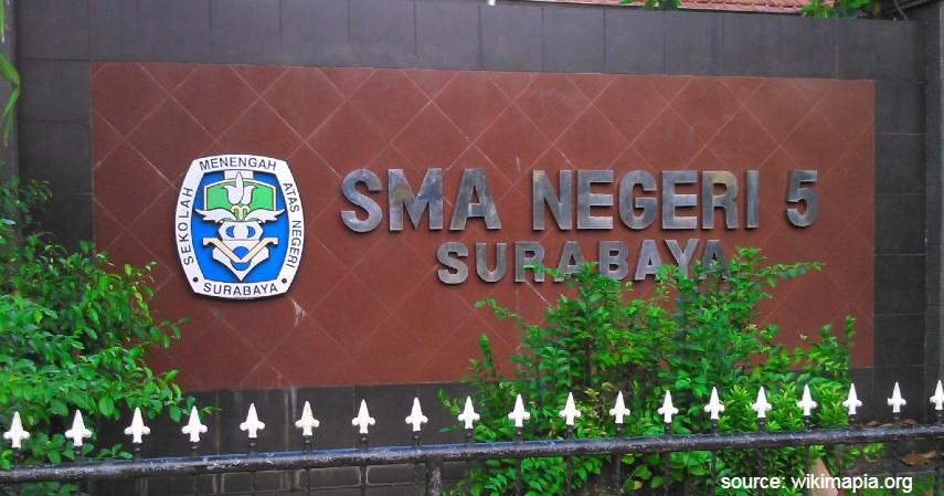 SMA Negeri 5 Surabaya - Daftar SMA Negeri Terbaik di Surabaya dengan Segudang Prestasinya