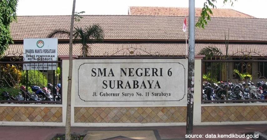 SMA Negeri 6 Surabaya - Daftar SMA Negeri Terbaik di Surabaya dengan Segudang Prestasinya