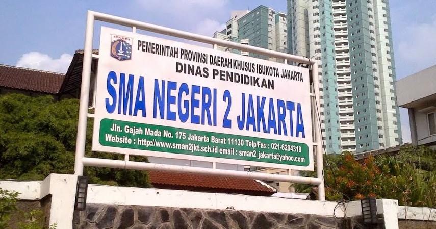 SMAN 2 Jakarta Barat - Daftar SMA Negeri Terbaik di Jakarta