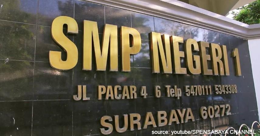 SMP Negeri 1 Surabaya - 6 Daftar SMP Negeri Terbaik di Surabaya Ini Unggul di Semua Bidang