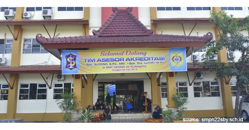SMP Negeri 22 Surabaya - 6 Daftar SMP Negeri Terbaik di Surabaya Ini Unggul di Semua Bidang