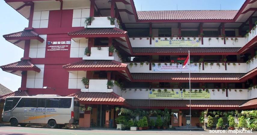 SMP Negeri 49 Jakarta - Daftar SMP Negeri Terbaik di Jakarta dengan Nilai UN Tinggi