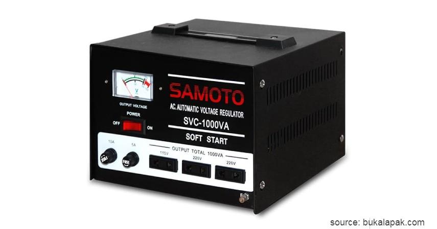 Samoto Stabilizer 1000VA - 7 Stabilizer Listrik Terbaik dengan Harga Terjangkau