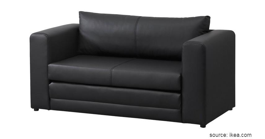Sofa Bed - 15 Ide Sofa Ruang Tamu Sempit yang Harganya Gak Bikin Mengernyit