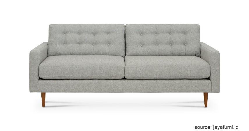 Sofa Berwarna Soft - 15 Ide Sofa Ruang Tamu Sempit yang Harganya Gak Bikin Mengernyit