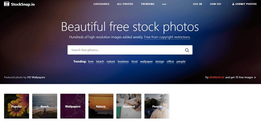 Stocksnap - 9 Situs Download Gambar Gratis Bebas Copyright