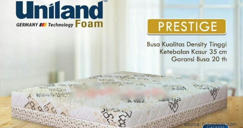 Super Premium Uniland Foam Prestige - 7 Kasur Busa Terbaik di Indonesia ini Ramah Kantong