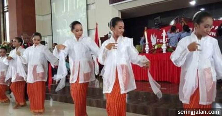 Tari Lenso - Kesenian Tradisional Sulawesi Utarad