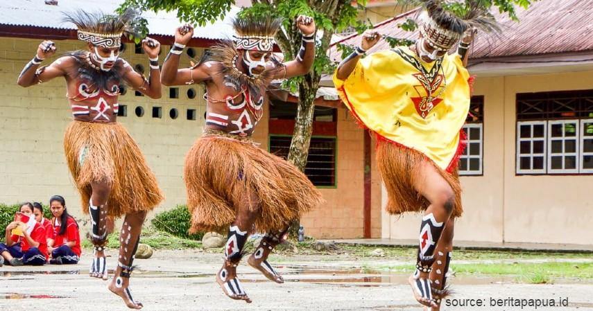 Tari Sajojo - Daftar Kesenian Tradisional Papua yang Bikin Takjub Wisatawan