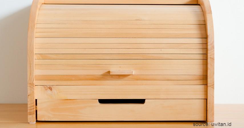 Tempat Roti - 15 Kerajinan dari Kayu Paling Kreatif Unik dan Estetik