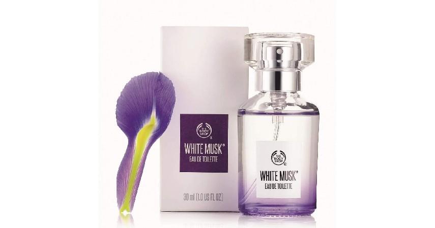 The Body Shop - With Musk EDT - 10 Merk Parfum Wanita Terbaik dan Terlaris Bikin Pria Terpesona