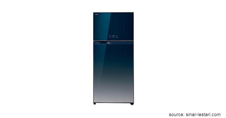 Toshiba GR-WG66ED - 6 Merek Kulkas Murah Terbaik dan Hemat Listrik Paling Recommended di 2020