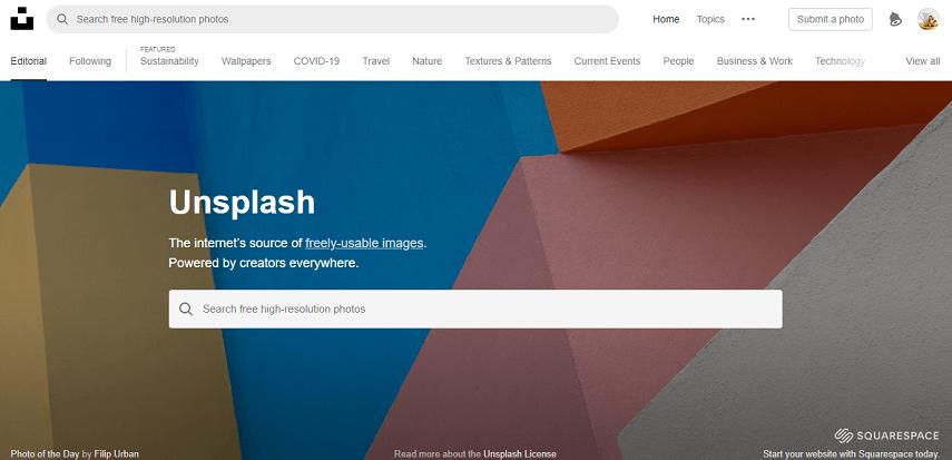 Unsplash - 9 Situs Download Gambar Gratis Bebas Copyright