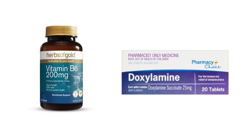 Vitamin B6 dan Doxylamine - 5 Obat Mual untuk Ibu Hamil yang Aman dan Efektif