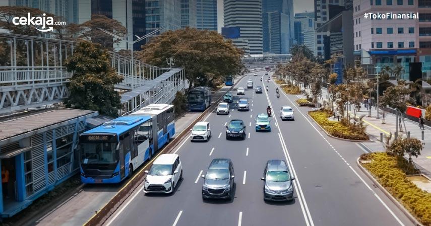 Segini Biaya Denda Ganjil Genap Jakarta Terbaru Beserta Cara Mengurusnya