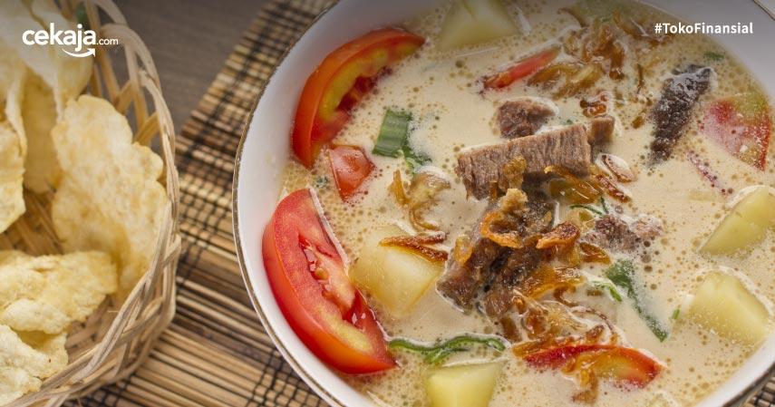 5 Resep Masak Soto Daging Paling Populer, Lezat dan Mudah Dibuat