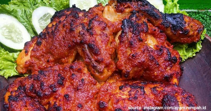 Ayam Taliwang - Daftar Makanan Khas Indonesia Paling Ikonik dan Tenar di Luar Negeri