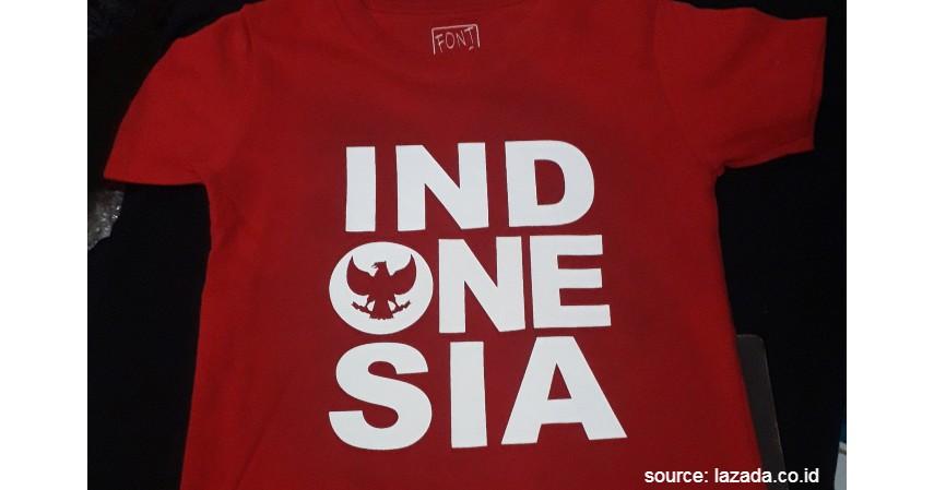 Bisnis Kaos Merah-Putih Bertema Kemerdekaan - 8 Ide Bisnis Hari Kemerdekaan Modal Rp1 Jutaan