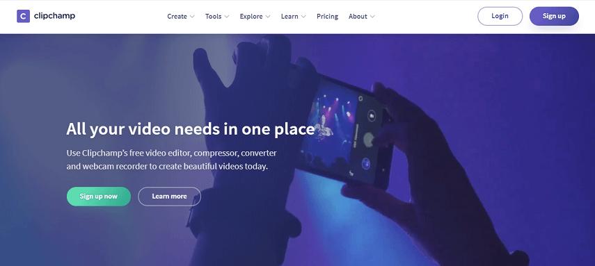 ClipChamp - 7 Aplikasi Edit Video Online Terbaik untuk Pemula