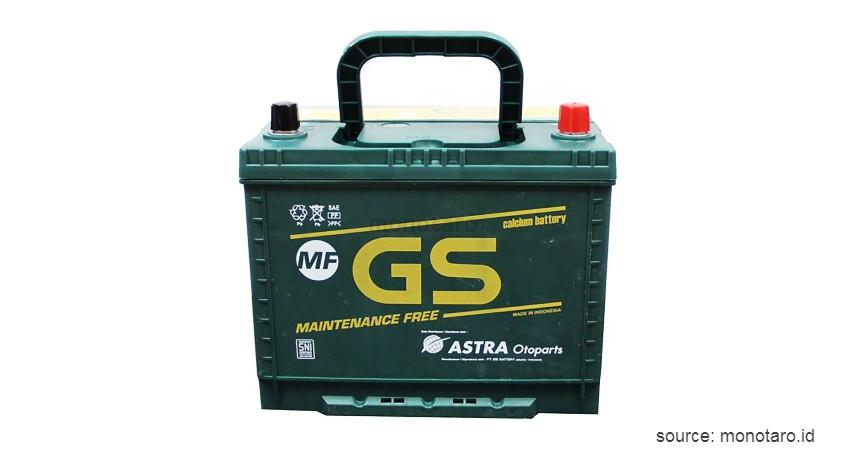 GS Astra - 10 Merk Aki Kering Terbaik untuk Mobil