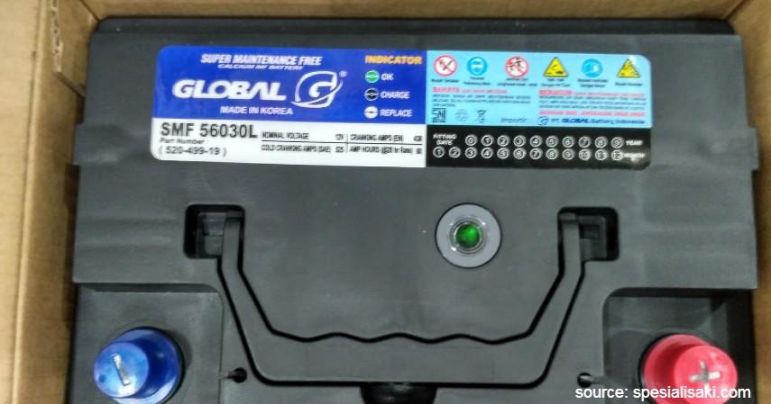 Global Battery - 10 Merk Aki Kering Terbaik untuk Mobil