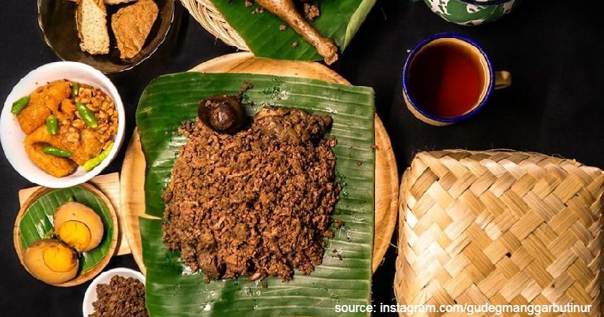 Gudeg - Daftar Makanan Khas Indonesia Paling Ikonik dan Tenar di Luar Negeri
