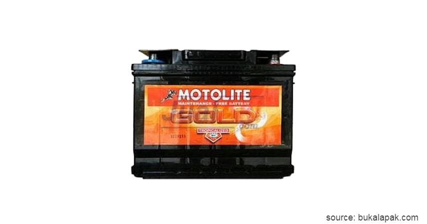 Motolite DIN 55530 - 10 Merk Aki Kering Terbaik untuk Mobil