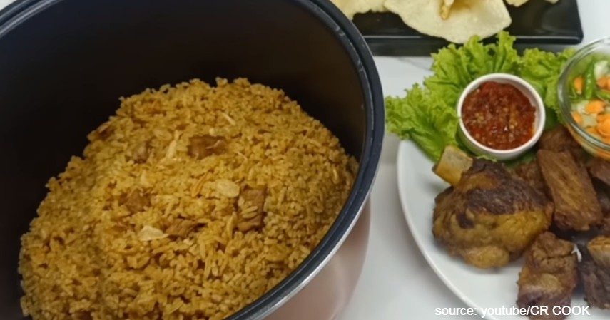 Resep Nasi Kebuli Kambing Mudah cuma Pakai Rice Cooker