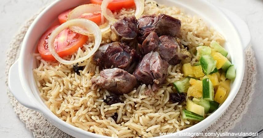 Resep Nasi Kebuli Tanpa Rice Cooker