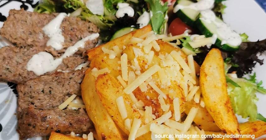 Sajian Doner Kebab Daging Sapi ala Rumahan - 7 Resep Olahan Daging Sapi
