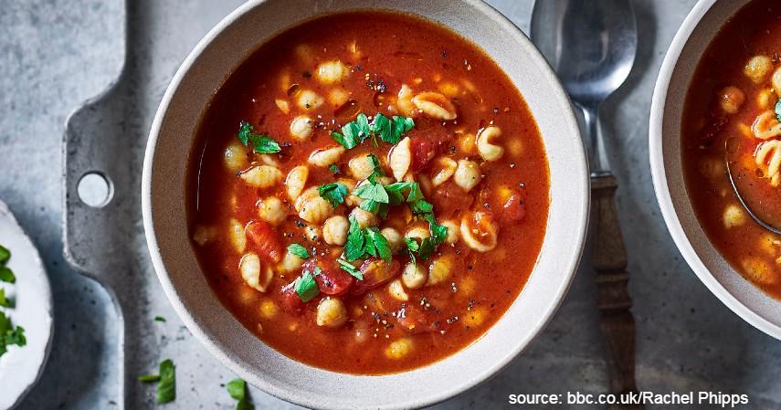 Sajian Sup Tomat Daging Sapi Asap - 7 Resep Olahan Daging Sapi