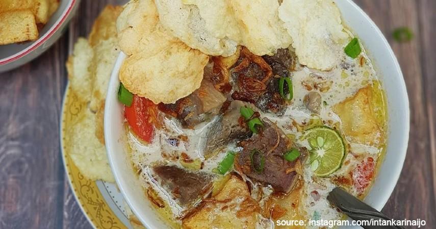 Soto Betawi - 5 Resep Masak Soto Daging Paling Populer