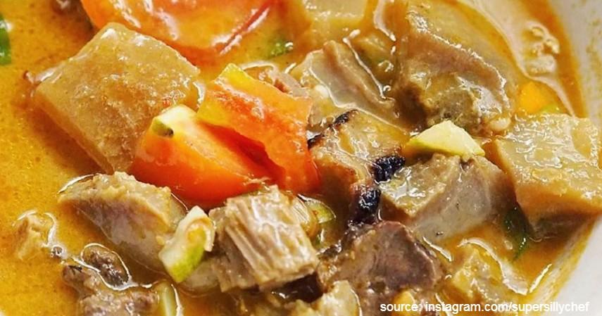 Soto Tangkar - 5 Resep Masak Soto Daging Paling Populer