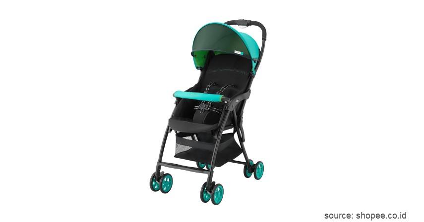 Stroller Bayi Aprica - 9 Merk Stroller Bayi yang Bagus Ringan dan Murah