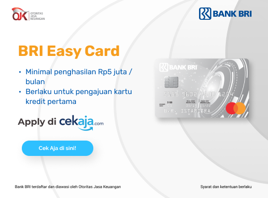 kartu kredit BRI Easy Card