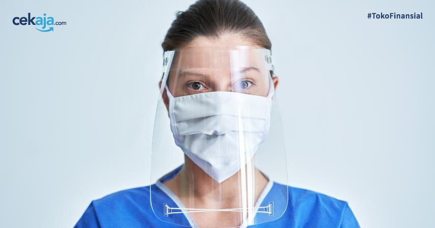 masker atau face shield