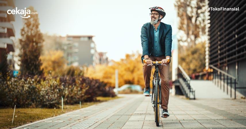 Minimalisir Kecelakaan Bersepeda dengan Asuransi Jiwa Yuk, Begini Caranya!