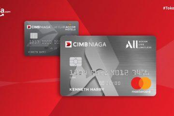 Perubahan Desain Kartu Kredit AccorHotel CIMB Niaga