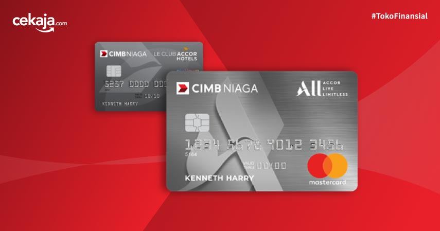 Perubahan Desain Kartu Kredit AccorHotels CIMB Niaga