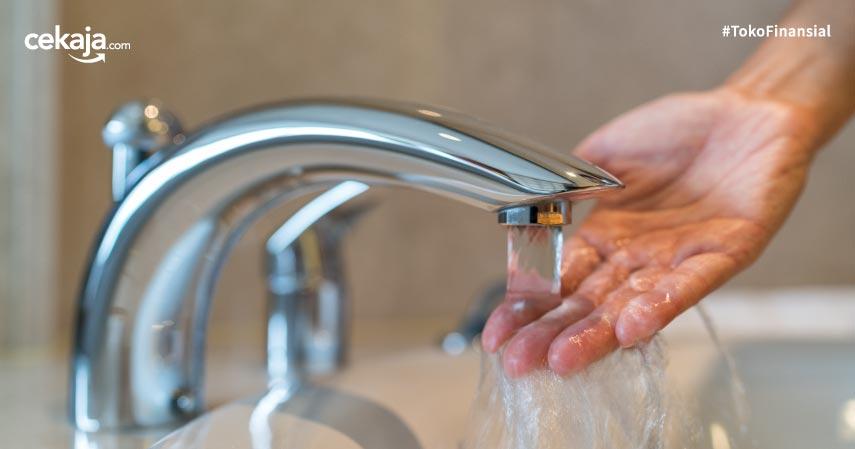 Tips menghemat air di rumah