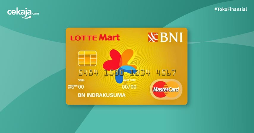 Review Kartu Kredit BNI Mastercard Lottemart Gold