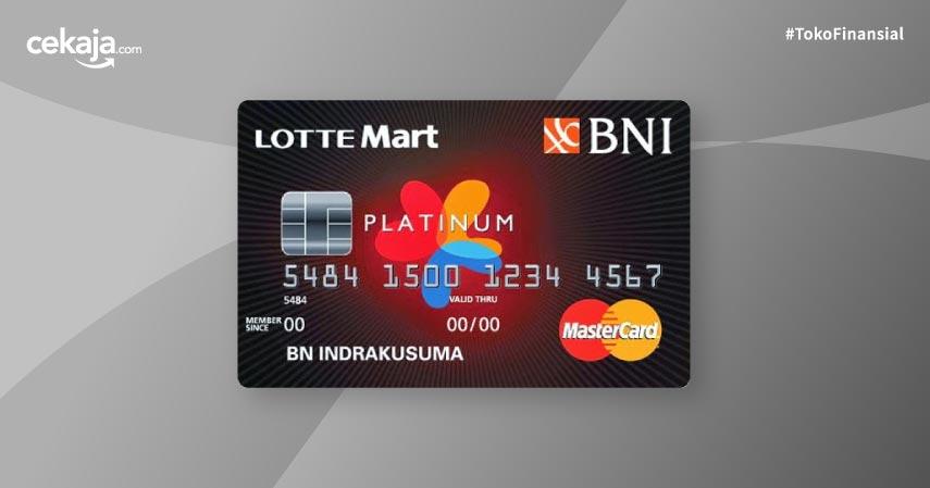 Kartu Kredit BNI Mastercard Lottemart Platinum dan Promonya