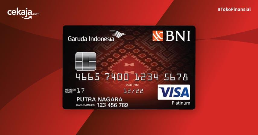 Keuntungan Kartu Kredit Bni Garuda Indonesia Visa Platinum