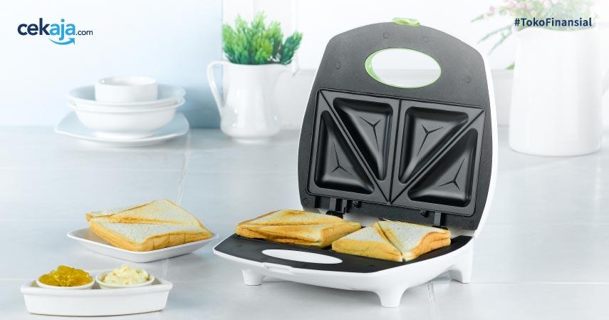 10 Daftar Sandwich Maker Terbaik, Bikin Sarapan Jadi Lebih Praktis!