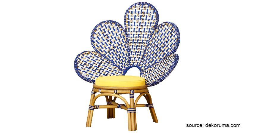 Cass Living Agneia Flower Chair - 10 Rekomendasi Kursi Malas Terbaik, Cocok untuk Relaksi di Rumah (1).jpg