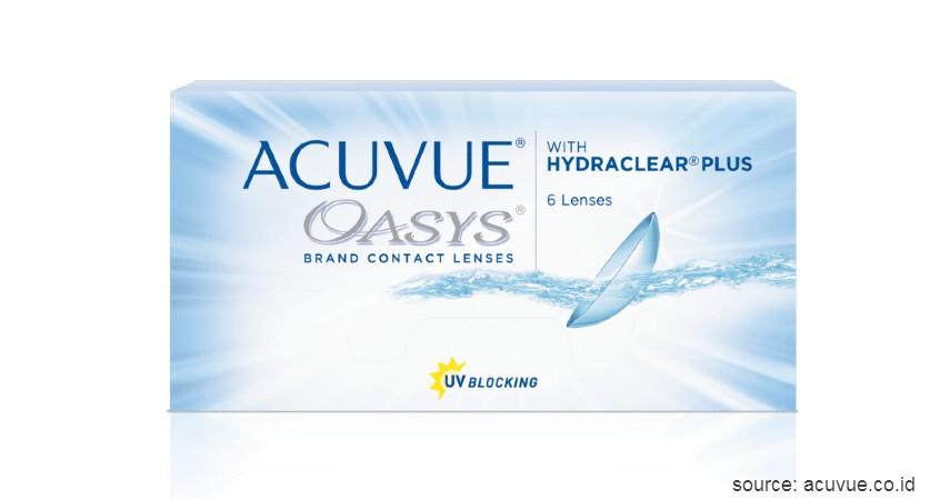 Acuvue OASYS - 2 Week With Hydraclear Plus - 10 Merek Softlens Terbaik