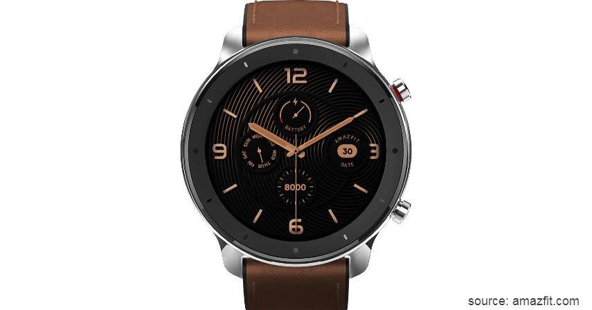 Amazfit GTR - 10 Merek Smartwatch Terbaik dan Berkualitas